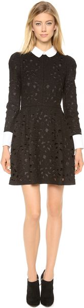 Jill Stuart Malene Collared Dress - Lyst