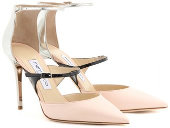 Jimmy Choo Typhoon Leather Pumps - Lyst