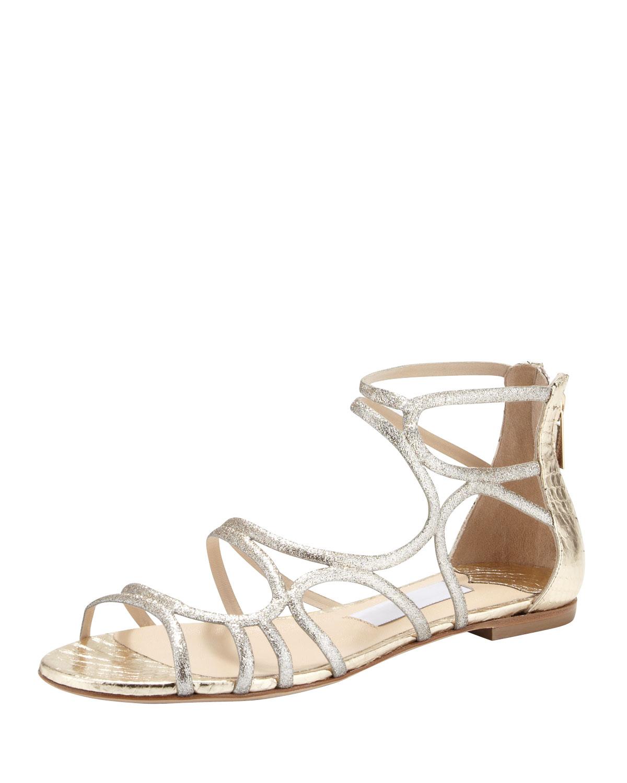 0f504736ac688 Gallery. Previously sold at  Bergdorf Goodman · Women s Jimmy Choo Glitter  Women s Ancient Greek Sandals ...