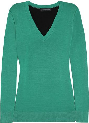 Jonathan Saunders  Two Tone Sweater - Lyst