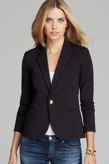 Juicy Couture Blazer Solid Ponte - Lyst