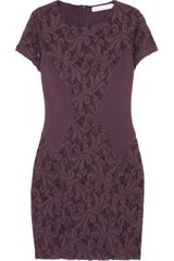 Kain Addi Ribbed Cotton Blend Jersey and Lace Dress - Lyst
