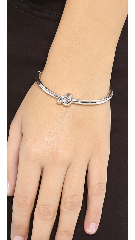 Lyst Kate Spade New York Sailor S Knot Bangle Bracelet