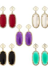 Kendra Scott Debbie Glass Drop Earrings - Lyst