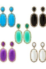 Kendra Scott Parsons Clipon Earrings - Lyst
