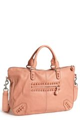 Liebeskind Vintage Knot Leather Satchel - Lyst