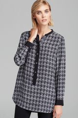 Marc By Marc Jacobs Blouse Terence Printed Silk - Lyst
