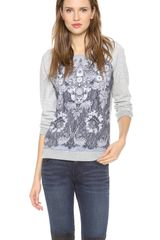 Marc By Marc Jacobs Lena Printed Sweatshirt - Lyst