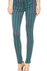 Matthew Williamson Jacquard Zippy Pants - Lyst