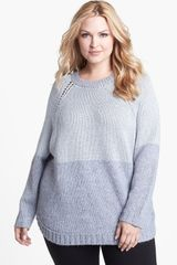 Michael by Michael Kors Poncho Sweater - Lyst