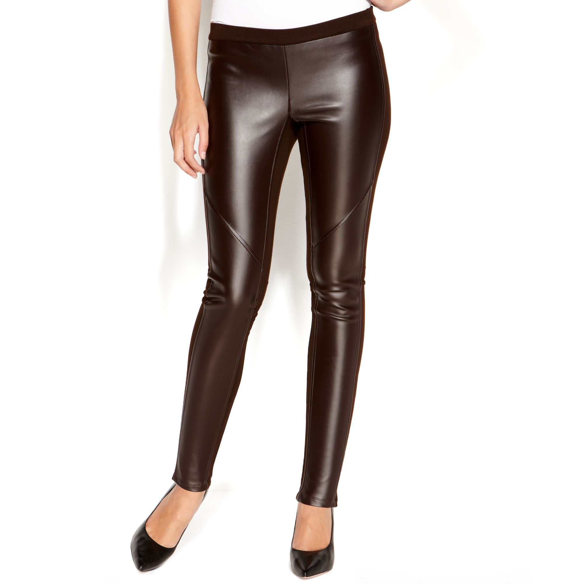 0d38eb681543b Gallery. Previously sold at: Macy's · Women's Faux Leather Pants ...