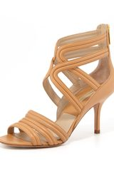 Michael Kors Sidney Leather Sandal - Lyst