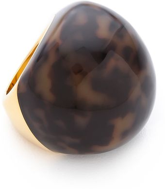 Michael Kors Tortoise Dome Ring - Lyst