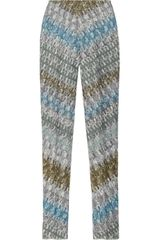 Missoni Highrise Crochetknit Leggingsstyle Pants - Lyst