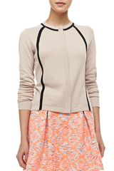 Nanette Lepore Wildcat Tribalprint Pleated Peplum Skirt - Lyst
