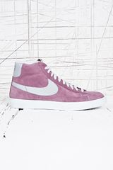 Nike Blazer Vintage Mid in Purple - Lyst
