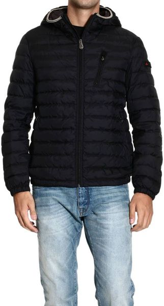 Peuterey Down Jacket Mc Carran Padded Light Jacket with Hood - Lyst