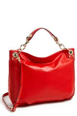 Rebecca Minkoff Luscious Mini Studded Leather Hobo - Lyst