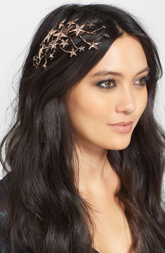 Rodarte Star Rose Gold Hair Pin - Lyst