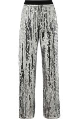 Sass & Bide  Metallic Sequined Pants - Lyst