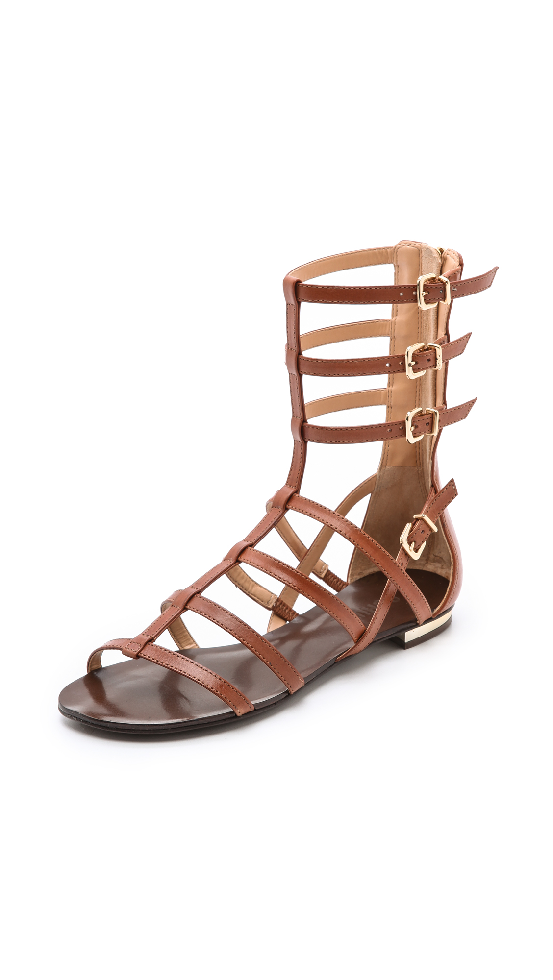 Schutz Fanny Gladiator Sandals in Brown | Lyst