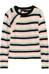 Sonia Rykiel Textured Cotton Blend Sweater - Lyst