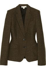 Stella McCartney Fellini Wool tweed Blazer - Lyst