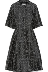 Temperley London Fleur Cottonblend Jacquard Dress - Lyst