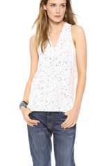 Tibi Splatter Dot Halter Top - Lyst