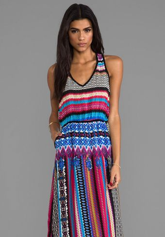 Tolani Norah Maxi Dress in Blue - Lyst