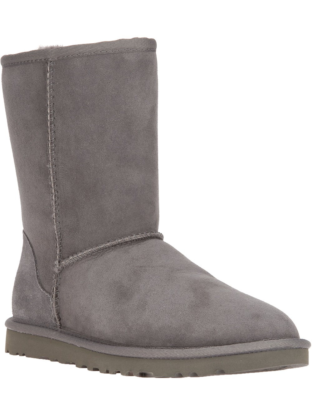 grey ugg style boots