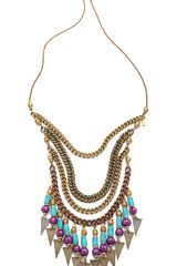 Vanessa Mooney Crossroads Statement Necklace - Lyst