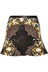 W118 By Walter Baker Dee Printed Jersey Mini Skirt - Lyst