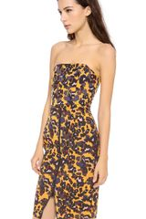 Camilla & Marc Merit Strapless Dress - Lyst