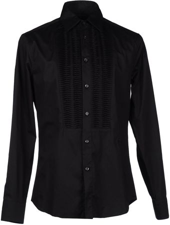 Class Roberto Cavalli Long Sleeve Shirt - Lyst