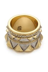 House Of Harlow Conquistadors Crown Ring - Lyst