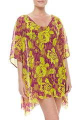 Jean Paul Gaultier Floral-print Sheer Cover-up - Lyst