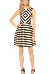 Jill Stuart Linda Striped Dress - Lyst