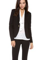 Juicy Couture Solid Ponte Blazer - Lyst
