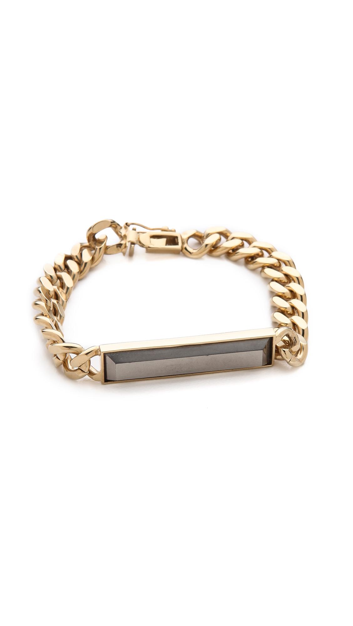 Lyst kelly wearstler normandie bracelet in metallic for Tj maxx jewelry box