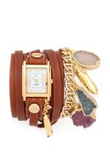 La Mer Collections North Star Wrap Watch - Lyst