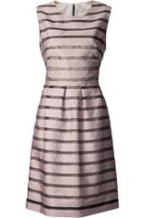 Lela Rose Sheath Ribbon Dress - Lyst