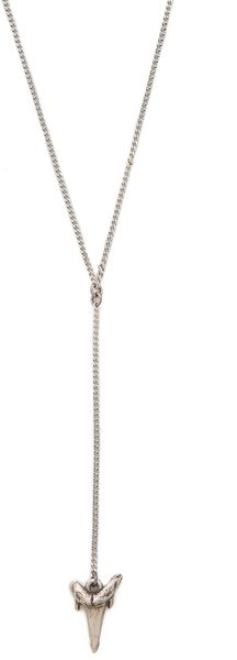 Luv Aj The Shark Tooth Rosary Necklace - Lyst