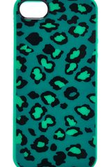 Marc By Marc Jacobs Sasha Leopard Iphone 5 5s Case - Lyst