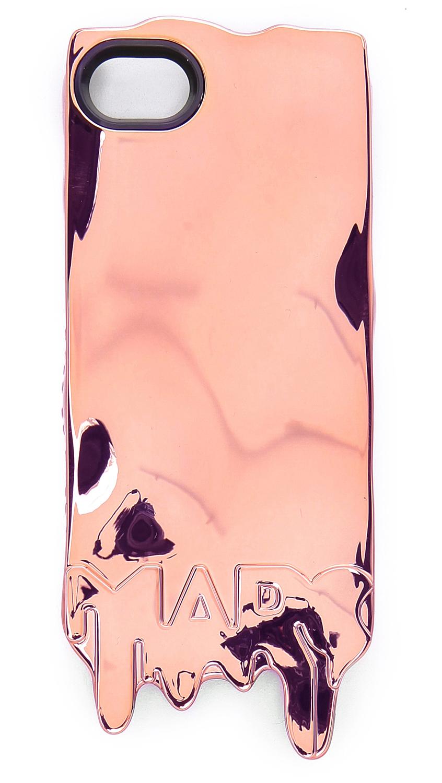 marc by marc jacobs melts iphone 5 5s case in gold rose. Black Bedroom Furniture Sets. Home Design Ideas