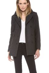 Rag & Bone Battle Pea Coat - Lyst