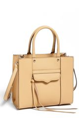 Rebecca Minkoff Mab Mini Leather Tote - Lyst