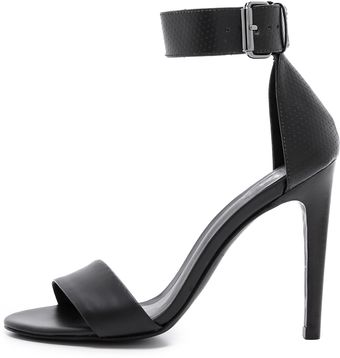 Tibi Carine Single Band Sandals - Lyst