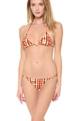 Vix Guarani Triangle Bikini Top - Lyst