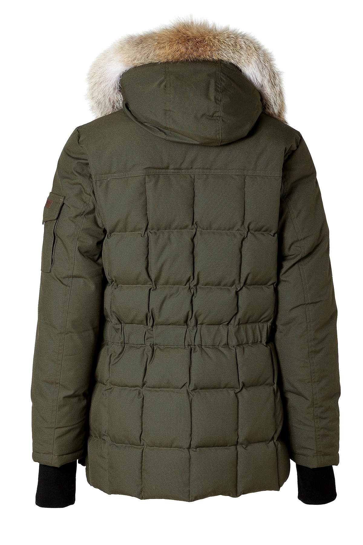 woolrich teton blizzard parka in flint olive in green for men lyst. Black Bedroom Furniture Sets. Home Design Ideas